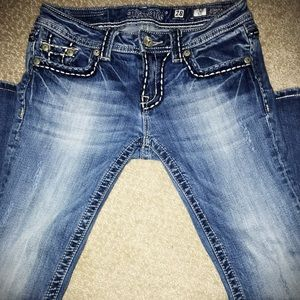 Women's Miss Me Jeans Style Boot Size 28x34